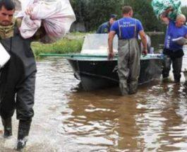 Россия, наводнение, Амурская область,