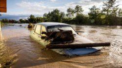 В Румынии сильное наводнение, реки выходят из русел