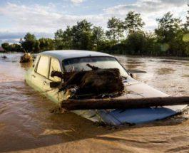 Румыния, наводнение,