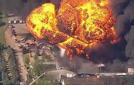 США, Иллинойс, завод, взрыв,