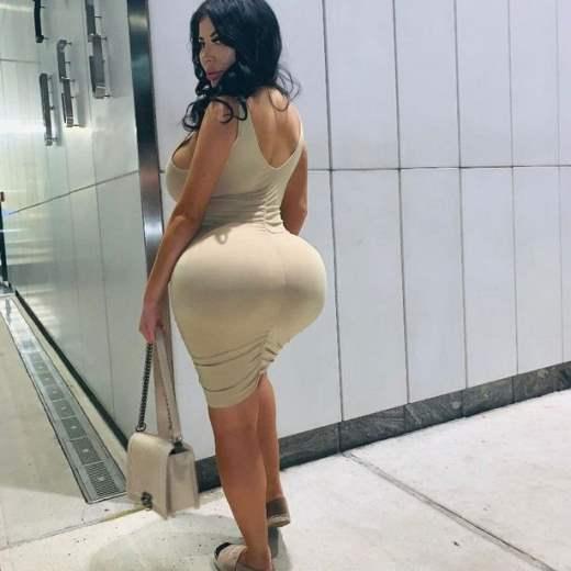 Стефани Паломарес, девушка, деньги, попка,