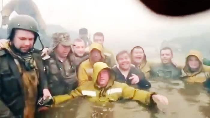 Тюмень, пожарники, десантники, лесной пожар,