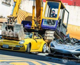 Филиппины, спорткары, уничтожение, автомобили,