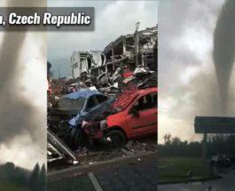 Чехия, торнадо,