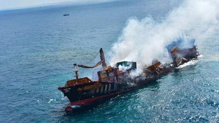 Шри-Ланка, судно, химикаты,