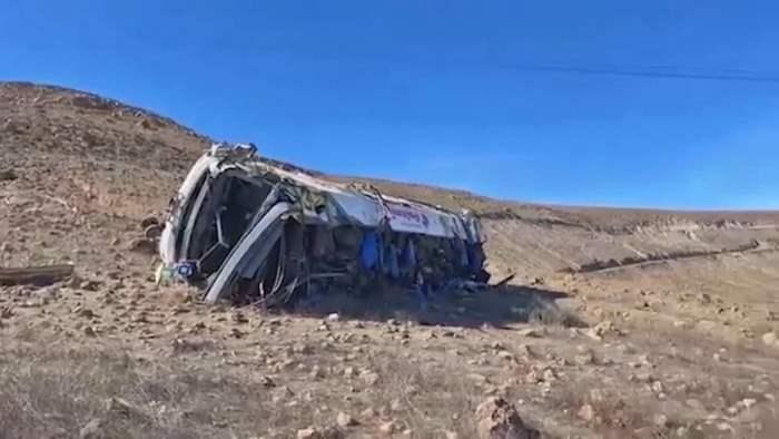 автобус, авария, Перу,