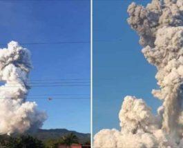 вулкан, извержение, Ринкон-де-ла-Вьех, Коста-Рика,
