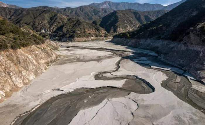 калифорния засуха