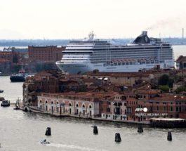 круизный лайнер, Венеция,