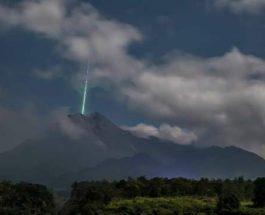 метеорит, вулкан, луч,