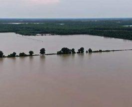 наводнение, Миссиссиппи, США,