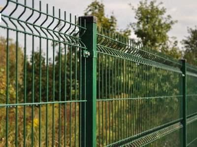 ограждение, сетка, 3D, забор,