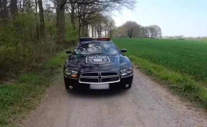полицейская машина, Top Speed Germany,