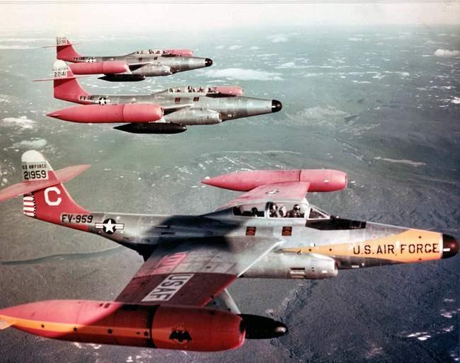 Перехватчики F-89J Scorpion