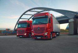Mercedes-Benz представил новый тягач Actros L