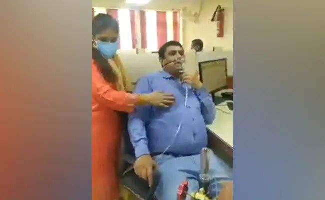COVID,Индия, кислород, сотрудник, банк,