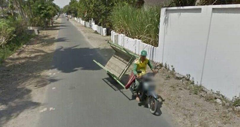 Google, карты, авария, скутер,