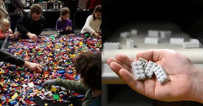 LEGO, кирпичи,