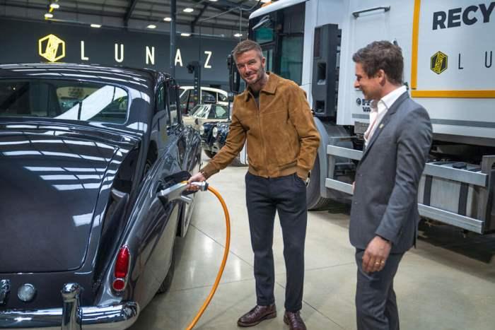 Lunaz, Дэвид Бэкхэм, авто, электрофикация,
