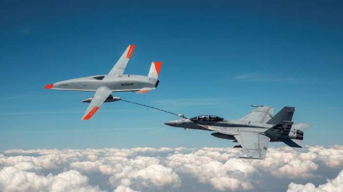 MQ-25 T1, F A-18, Boeing,