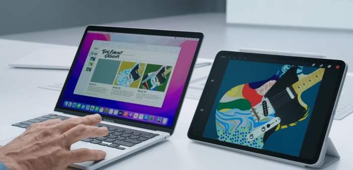 MacBook, macOS Monterey, WWDC 2021 Apple,