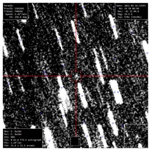 C 2021 J1 (Maury-Attard), комета,