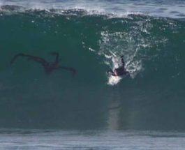 серфинг, серфер, странный объект,