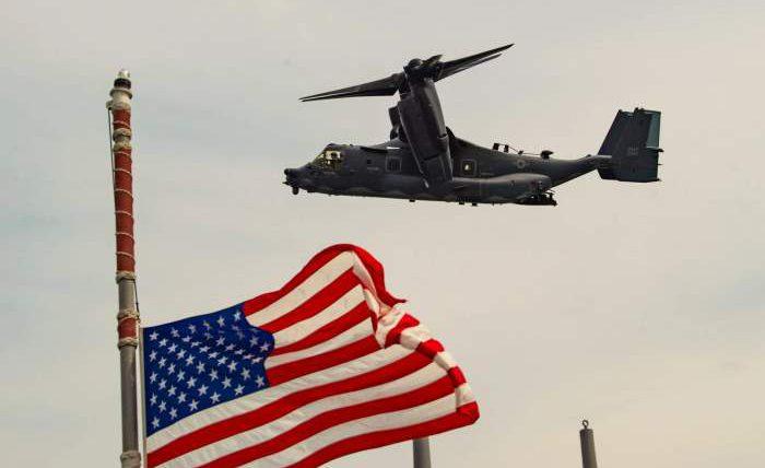 Авиация и военные корабли США