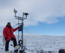Антарктида, метеорологическая станция,
