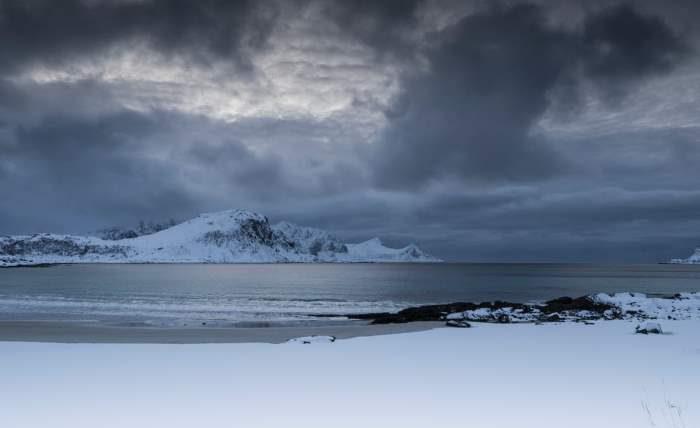 Арктика, тундра, грозы,
