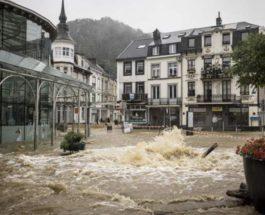 Бельгия, наводнение,