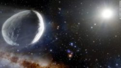 Огромную комету Бернардинелли-Бернштейна можно будет наблюдать с помощью телескопа