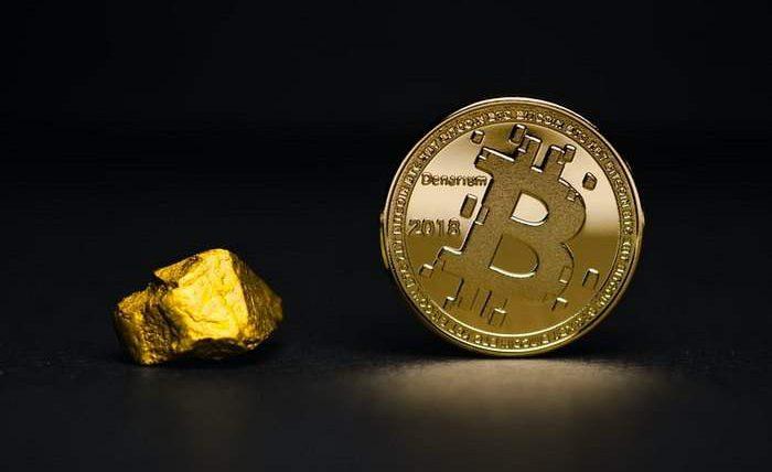 Биткоин, золото,