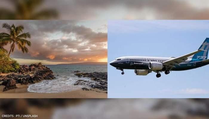 Боинг 737 упал в океан