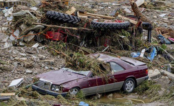 Германия, Бельгия, наводнение,