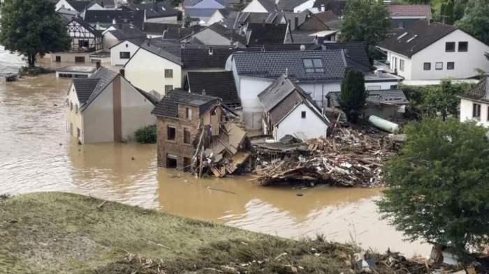 Германия, стихийное бедствие, наводнения,