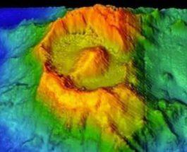 Глаз Саурона, вулкан, Индийский океан,
