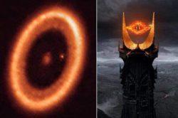 В космосе нашли «Глаз Саурона» — экзопланету PDS 70c с окружающим ее диском
