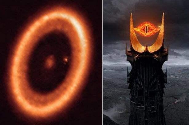 Глаз Саурона, космос, экзопланета,