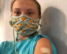 Грета Тунберг, активистка, прививка, COVID, вакцина,