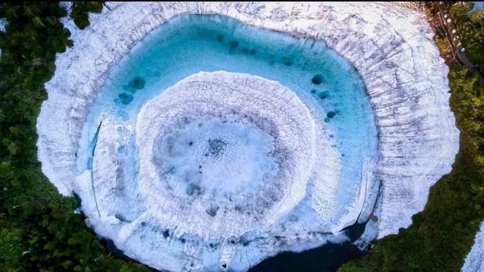 Кагами Нума, Япония, озеро, глаз дракона,