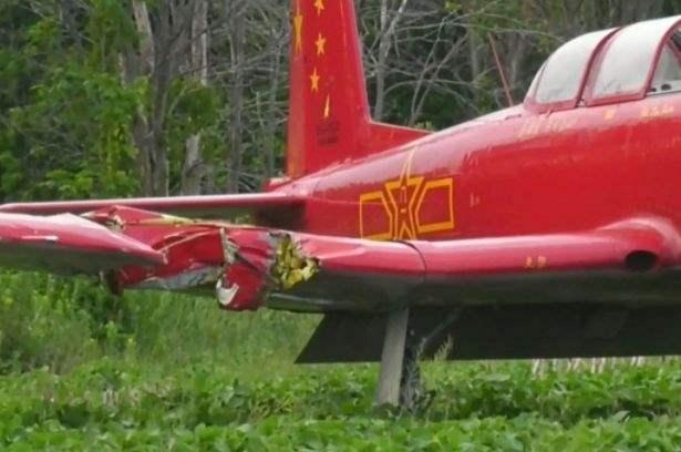 Канада, Монреаль, самолет, Як-52, Nanchang CJ-6, авария,