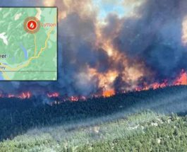Канада пожары
