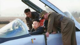 Ким Чен Ын, аэродром, Северная Корея, КНДР, полеты,