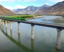 Китай, Тибет, железная дорога,