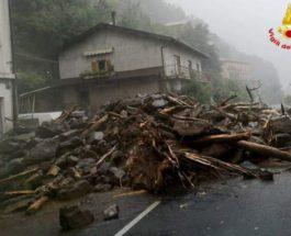 Комо, озеро, Италия, эвакуация, оползень, наводнение,
