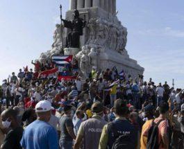 Куба, протесты,