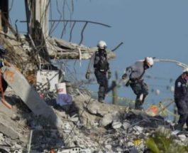 Майами, обрушение, пожарный, дочь, тело,