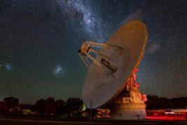 НАСА, антенна, дальний космос,