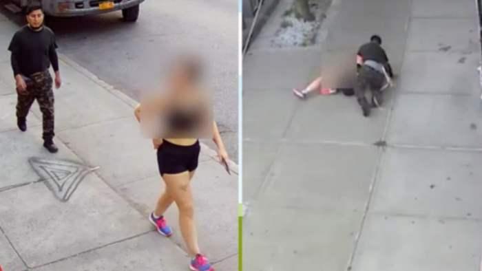 Нью-Йорк, женщина, изнасилование,